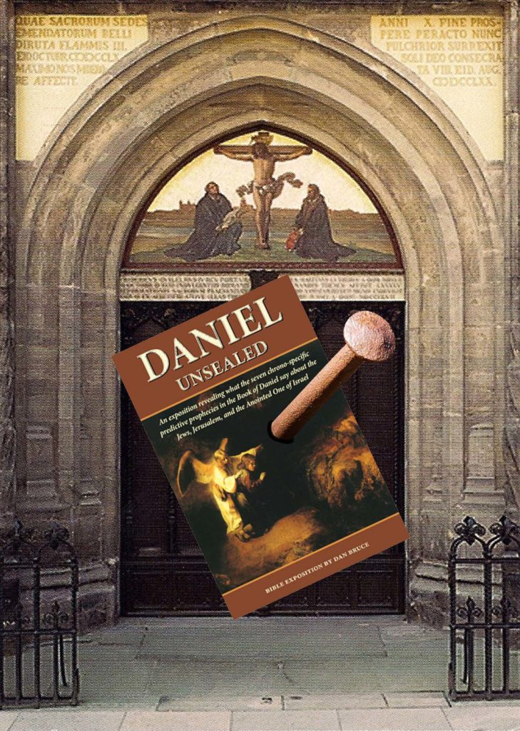 In 1517 Martin Luther nailed his 95 Theses to the door of the Castle Church in Wittenberg starting what became known as the Protestant Reformation. & The Spirit of Wittenberg Redux u2013 The Prophecy Society